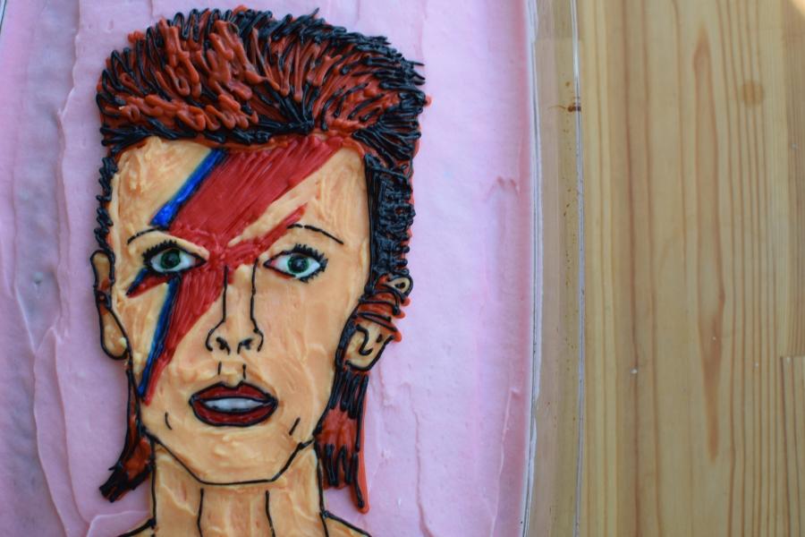 David Bowie Cake#1
