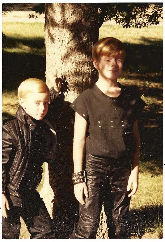 Aaron & Andy Circa 1984