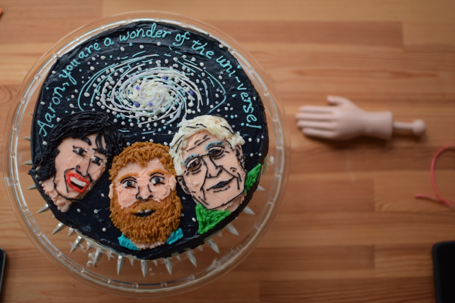 Sir David Attenborough Wonders of the Universe Cake
