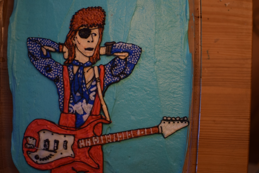 David Bowie Cake#3