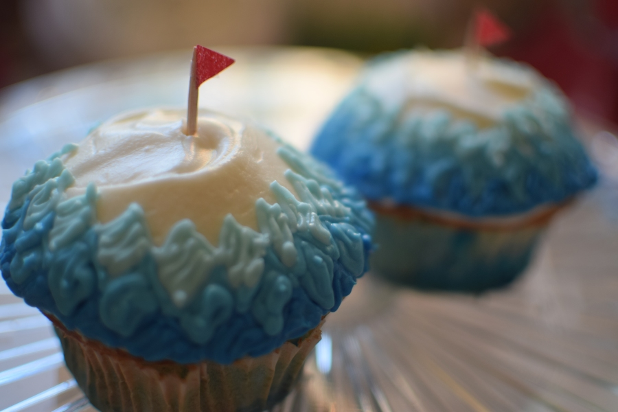 Moving and Tacoma Dome Cupcakes