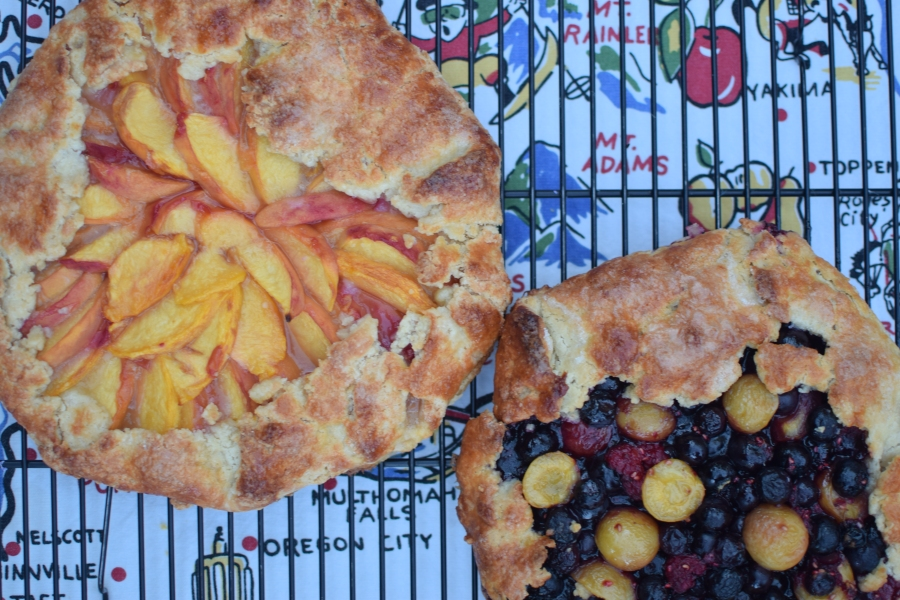 Moving and Northwest Fruit Galettes
