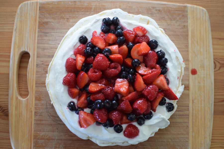 Mother's Day Pavlova with Berries
